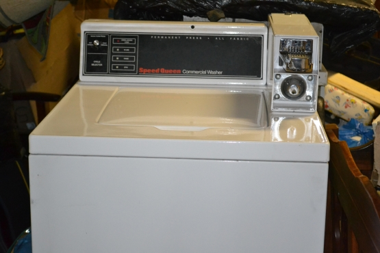 Speed Queen Coin Operated washing machine