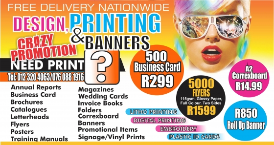 BUSINESS CARD & BANNERS SPECIAL