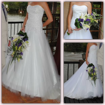 Wedding dress A-line Very Comfortable!