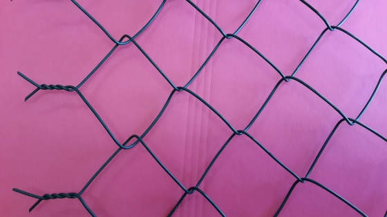 GALVANISED DIAMOND MESH