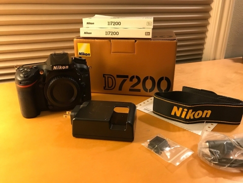 Nikon D7200 Body Only For Sale