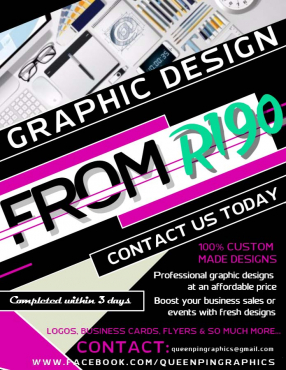 190: Professional Graphic Design Services