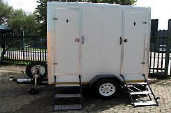 Double Vip Mobile toilets for sale