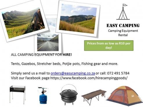 EasyCamping-Rentyourcampingequipment