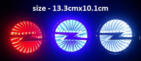 Light up car logo's/badge's