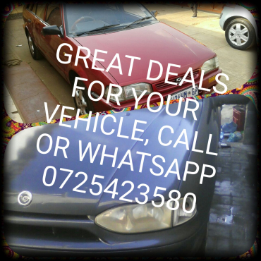 just a call away for good deals