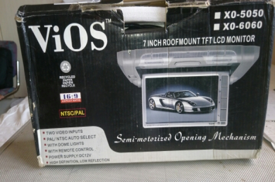 ViOS 7inch roofmount LCD monitor