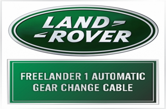 Landrover Freelander 1 Automatic gear change cable  R2500