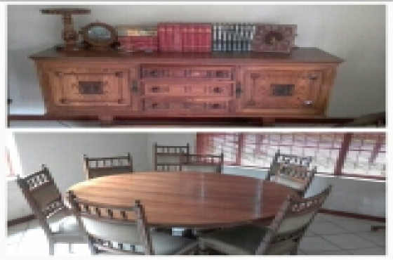 Pat Cornick diningroom set
