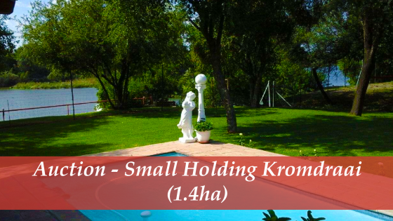 Auction – Small Holding Kromdraai (1.4ha)