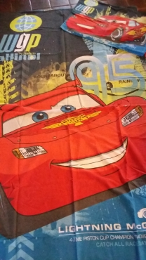 Kids Cars and Hannah Montana Single Duvet and Pillow case sets - Awesome Deal !!