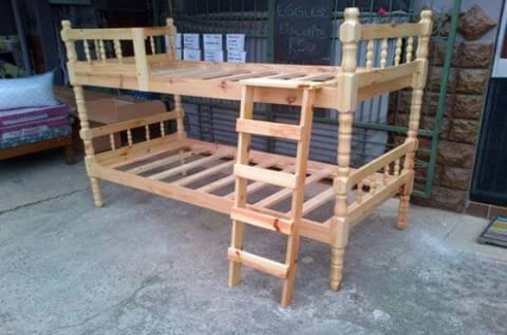 Brand new pine bunk beds