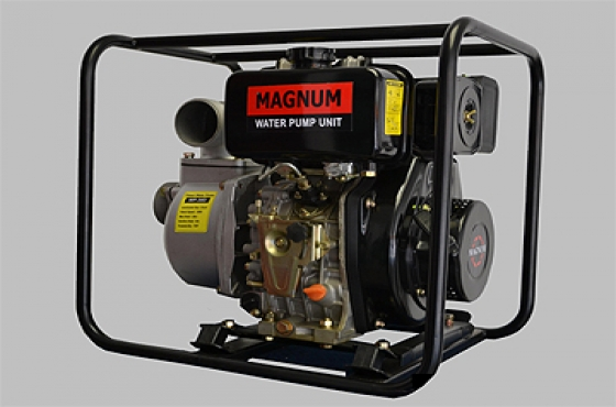 "Magnum Diesel 2"" Water Pumps with 4hp diesel engine. Vat included"