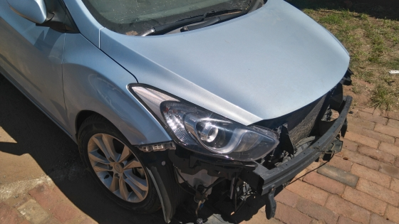 Hyunda I30 1.6 face lift now for stripping of parts.