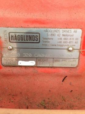 Hagglunds CB400 Hydraulic Motor (Brand New in Crate)