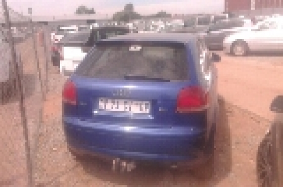 2004 code 2 Audi a3 2 0 tdi striping for spares | Junk Mail