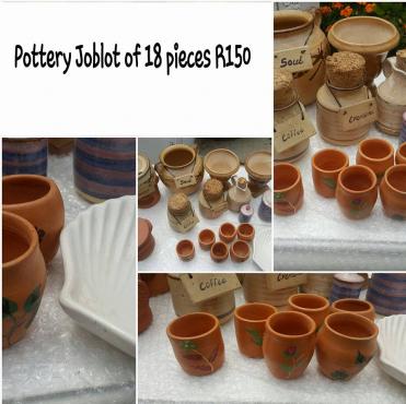 Pottery joblot for sale