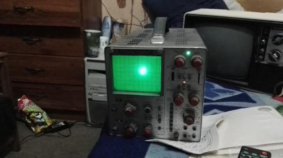 oscilloscope telequipment  dm64