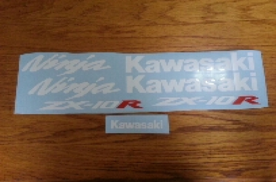 Kawasaki zx 10r graphics stickers decal kits