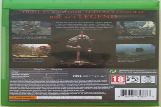 Ryse Son of Rome XBOX One Game
