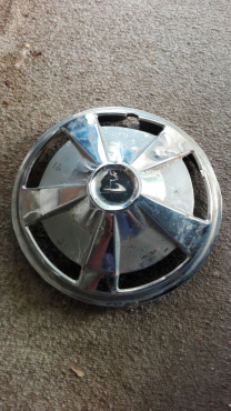 Datsun GX 120 sedan: used hub cap