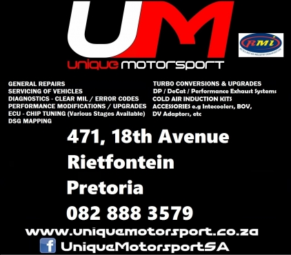 Vehicle Diagnostic Services and clearing/repairing of error codes - RMI Accredited