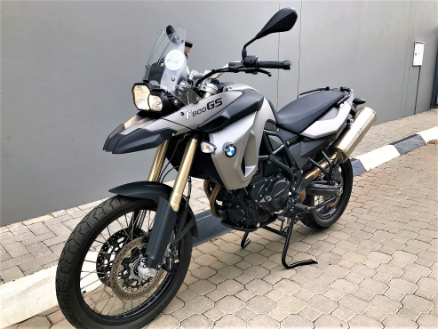 08 BMW F800 GS 4000km