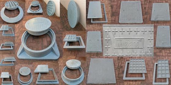 Wuzland® Polymer Manhole Covers