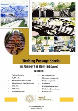 Professional Event Management Service Special