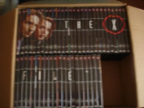 X FILES Dvd's season 1 -8. 48 dvd's in total