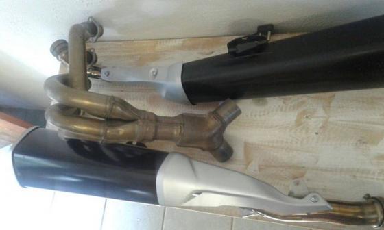Kawasaki ZX14 Pipes