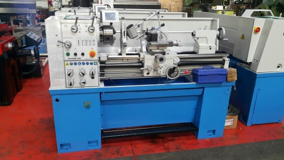 New Center lathe .