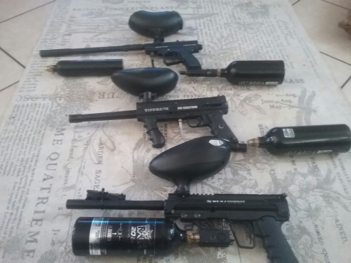 3 strong paintball guns for sale or swop