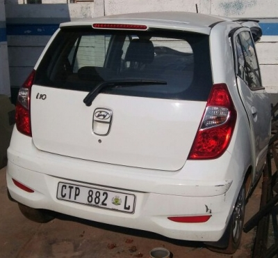 Hyundai I10's stripping for parts