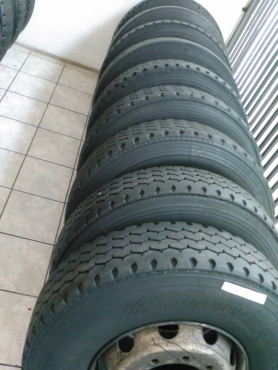 Second Hand 315R22.5 and 12R22.5 for sale in witbank Mpumalanga