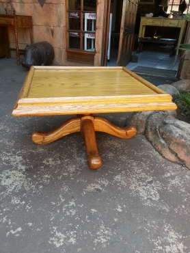 Square Oak Coffee Table (790x790x450)