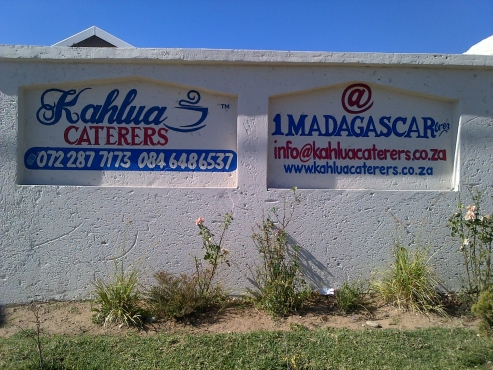 We hire jumping castle, kiddies, chairs, table, Linen, Crockery Etc 072 287 7173 Kahlua Caterers