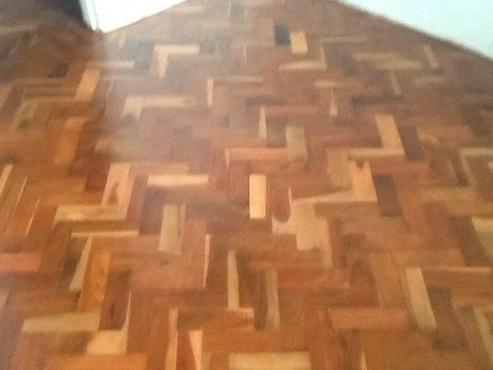Parquet Wooden  Flooring Restoration