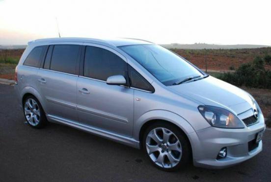 2008 Opel Zafira Opc Junk Mail