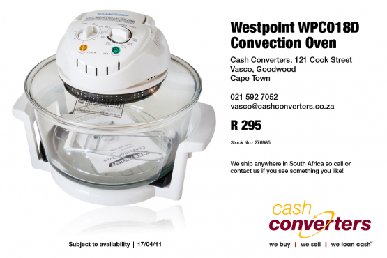 Westpoint WPC018D Convection Oven