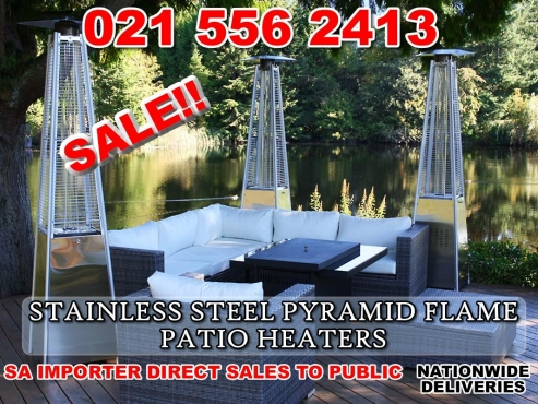 Stylish outdoor gas heater Flame Patio Heater/Stainless steel , Huge savings!