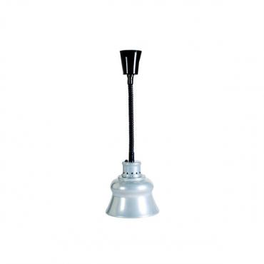 DECORATIVE FOOD DISPLAY LAMP - SILVER