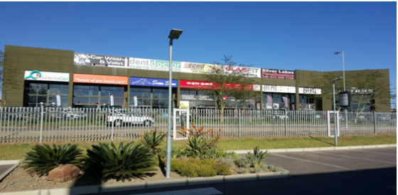 308m Prime retail space in Pta East