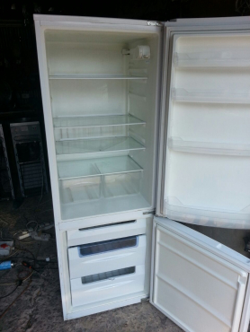 KIC White double door Fridge