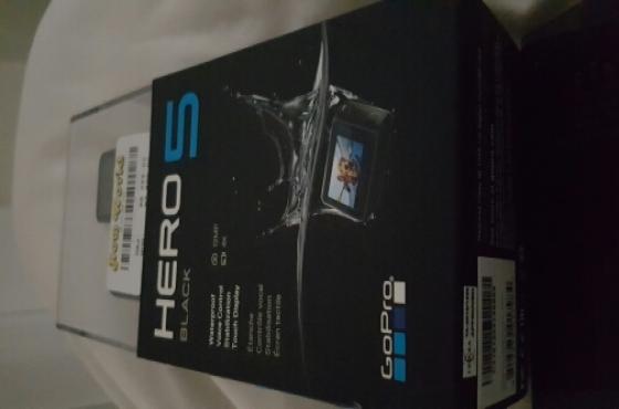 Go Pro Hero 5 black addition sealed brand new