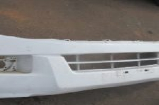 2012 Isuzu KB Front Bumper White For Sale