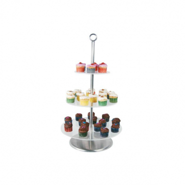 CAKE & DISPLAY STAND - 3 TIER