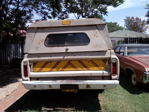 1969 Chevrolet C30 Fleetside with Canopy 35k Neg    Junk Mail