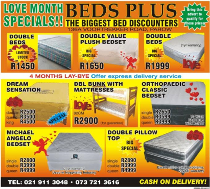 Double Bunk Beds With Mattresses For R2900 Junk Mail