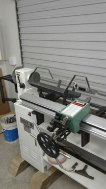 Grizzly G1495 Heavy duty Wood Lathe  | Junk Mail